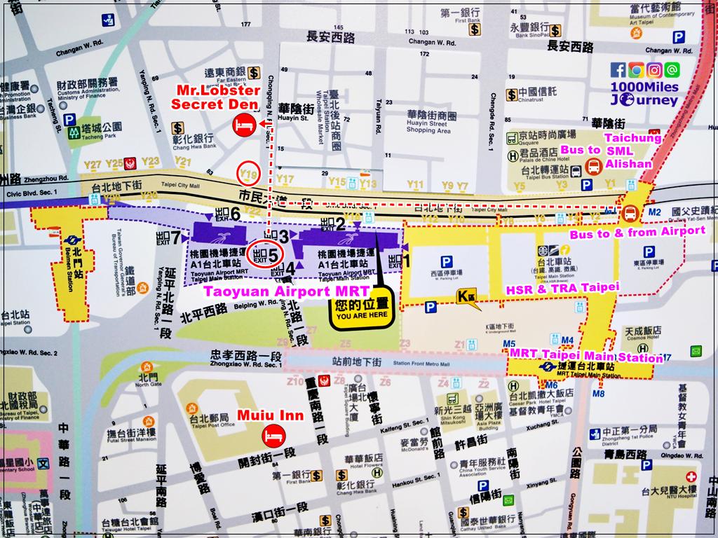 ที่พักใกล้ Taipei Main Station